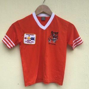 Boy Scouts Vintage T Shirt in Orange Size M